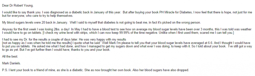 testimonial for dr young