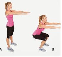 lose 50 pounds doing 5 squats daily