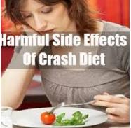 crash diets are a massive recipe for failure