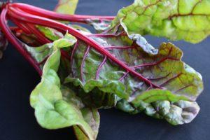 fresh chard tops our alkaline diet chart