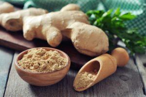 ginger tea not acidic turmeric not acidic