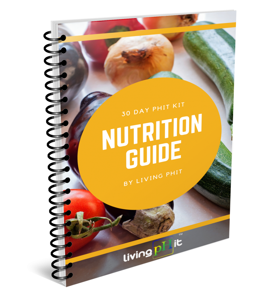30 Day Phit Kit Nutrition Guide